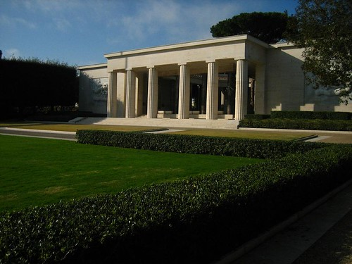Chapel and History at the American Cemetary