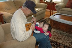 Mandolin lesson from Grampa