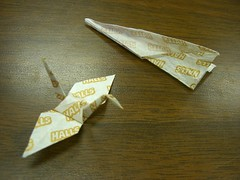 crane + plane