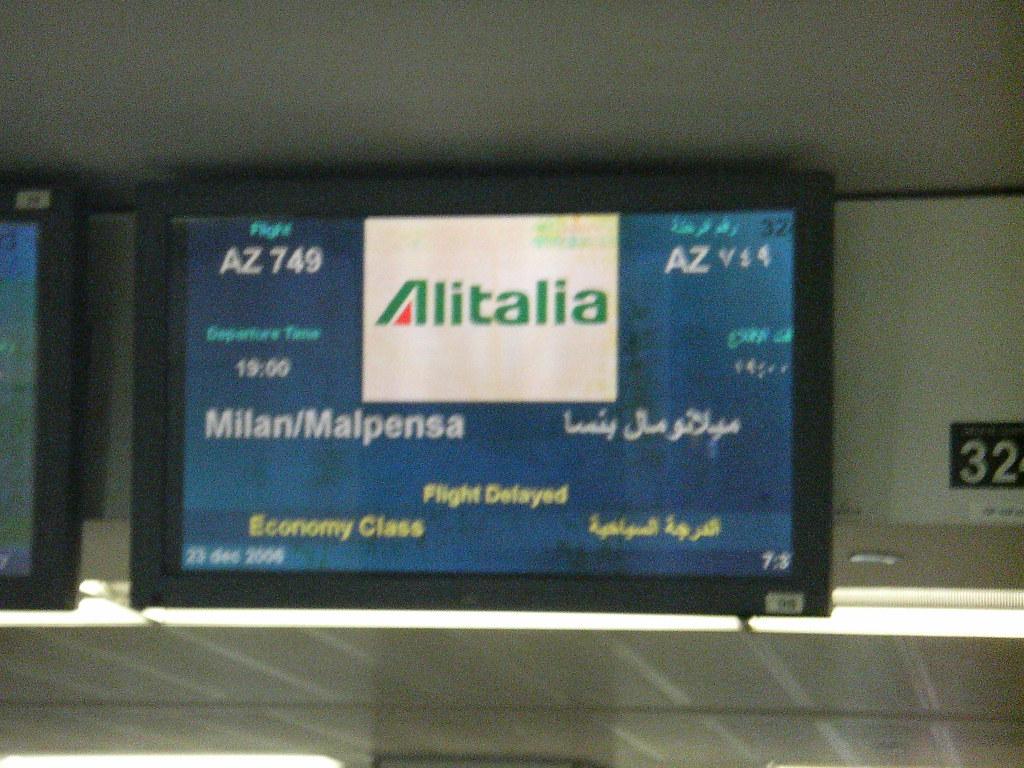 Alitalia strikes back