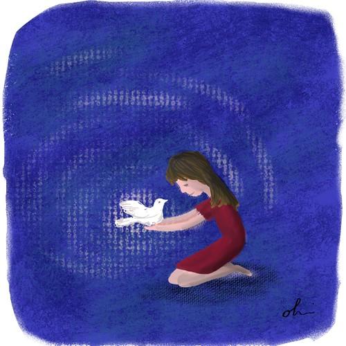 Illustration Friday: Peace