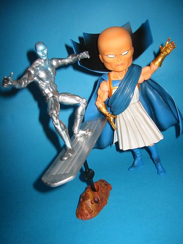 Silver Surfer and the Watcher