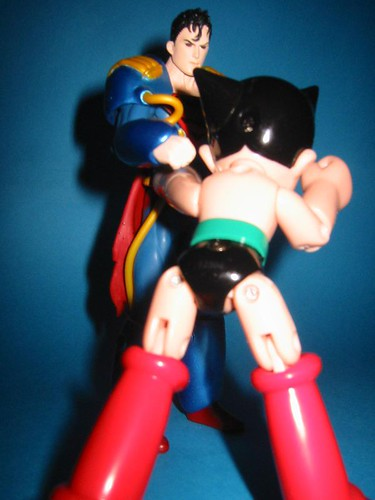 Superboy Prime Vs. Astro Boy