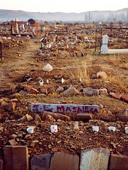 Jun/Jul 92 - Mamelodi township cemetery, near Pretoria (Best of Rob) Tags: cemetery pretoria township mamelodi
