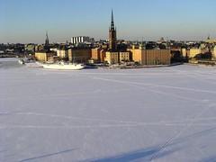 Stockholm From Södermalm (Lucio José Martínez González) Tags: travel viaje winter snow sweden stockholm nieve gamlastan invierno estocolmo suecia 100club 50club luciojosémartínezgonzález luciojosemartinezgonzalez