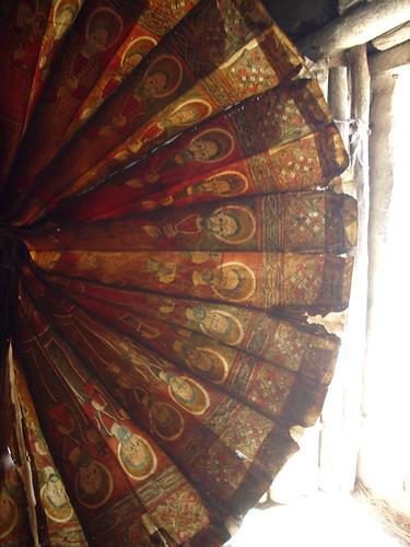ceremonial fan + doorway