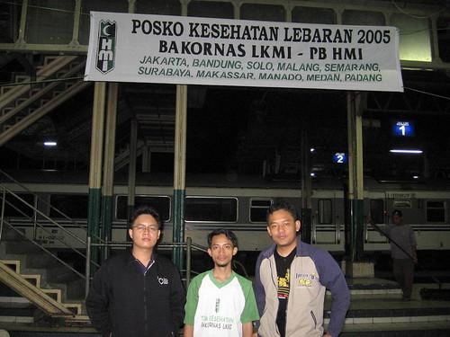 Posko Kesehatan Lebaran 2005