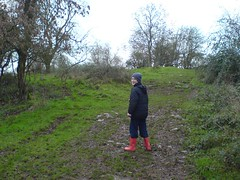 Theo's on a Geo hunt ! (twinbowlers) Tags: geocaching treasure chocolate geocache theo venture hunt northsomerset garmin treasurehunt etrex yatton venturer claverham cadburyhill