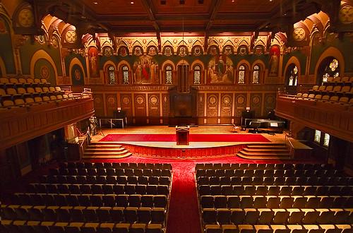 Georgetown Universitys Gaston Hall