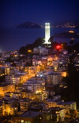 No Time for Sleep (Thomas Hawk) Tags: sanfrancisco california city usa topf25 night san francisco cityscape unitedstates fav50 10 unitedstatesofamerica fav20 coittower northbeach fav30 fav10 fav25 fav40 fav60 northbeachdistrict superfave soetop50sf