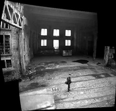 Fabbrica Montecatini (Mr.Pitone) Tags: people blackandwhite bw italy david film blackwhite factory bn uomo mori trentino biancoenero montecatini pellicola alumetal fotoincatenate vallagarina bnarchitettura bnpersone bnarcheologiaindustriale