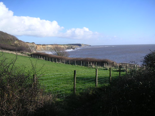 Looking east toward Llantwit Beach