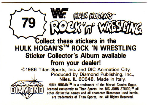Even though i collected the trading cards and watched the heck out of the dic cartoon i never really felt like i was all that much of a wrestling fan as i