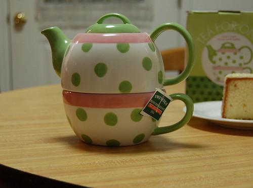 January 10, 2007-Tea for Me