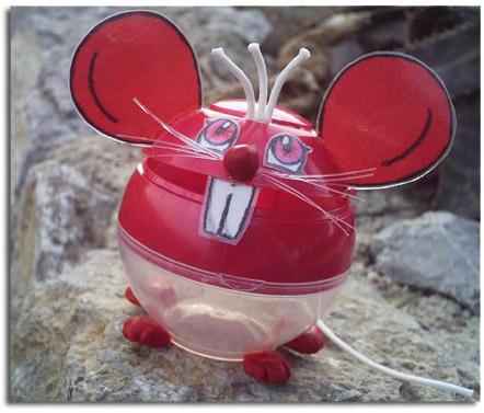 Ratón reciclado
