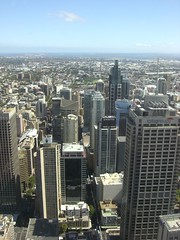 Sydney.  From Sydney Tower!