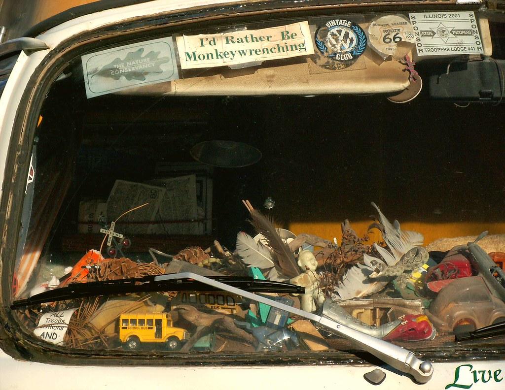 A Peek Inside: VW Bus Dashboard 1