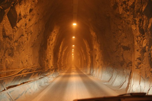Tunnel near Colonnata