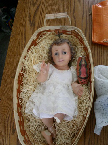 broken baby jesus