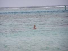 Snorking in Tahiti