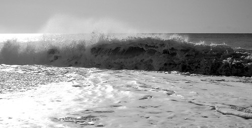 Breaking wave in Paphos