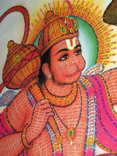 Hindu god Hanuman