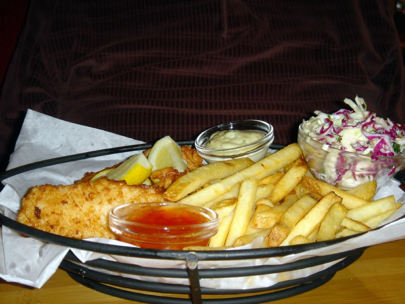 Fresh Tilapia Fish & Chips