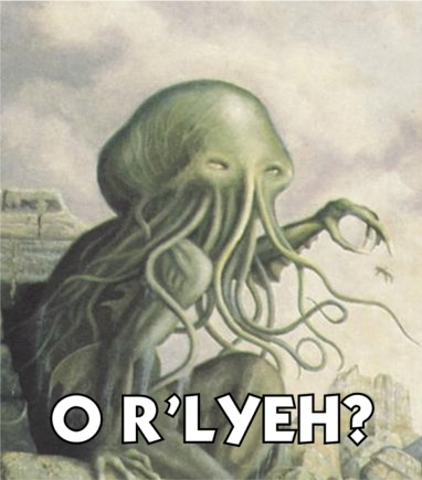 Incredulous Cthulu