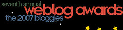 Finalist in 2007 Bloggies