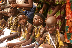 the dipo ceremony of the krobo girls in ghana (Retlaw Snellac) Tags: africa travel tourism canon photography ceremony ghana dipo visittheworld allpeople krobo waltercallens onephotoweeklycontest