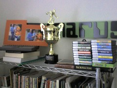 "The start of my ""Trophy Case"""