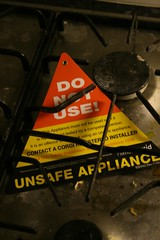Unsafe appliance
