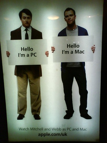Hello, I'm a PC. Hello, I'm a Mac.