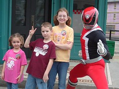 The amazing SPD Red Ranger