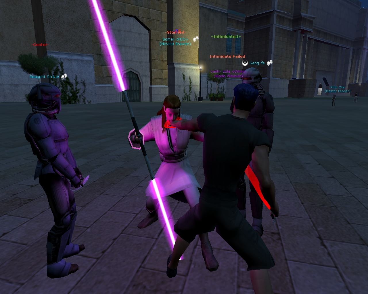 Star wars Galaxies – Rose-colored casual