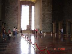 Di Dlm Bangunan Makam Mustafa Kamal Attaturk Di Attaturk Mausoleum, Ankara, Turkey