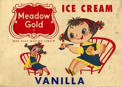 Mary Blair Ice Cream carton