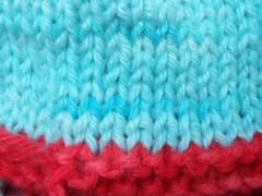kool aid yarn WIP
