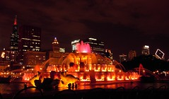 Buckingham Fountain, Chicago (dacardoso) Tags: chicago fountain buckinghamfountain