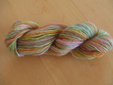 Hello Yarn BFL Handpainted Single Spun