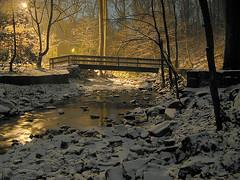 Creek (Tom O'Neill) Tags: snow water night creek landscape bravo explorer hdr naturesfinest supershot magicdonkey instantfave mywinner abigfave anawesomeshot impressedbeauty diamondclassphotographer flickrdiamond