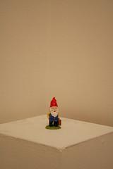 Gnome on Display (raelala) Tags: nyc newyorkcity newyork art manhattan fineart museums themet themetropolitanmuseumofart cedricthegnomemctart