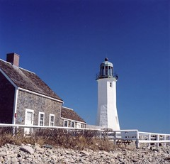 Scituate Light 2 (keltic_tom) Tags: fuji minolta yashicamat 80mm lumaxar 160pro autopole