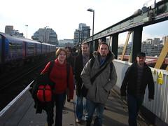 The Brighton contingent
