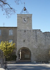 Main entry to our Medieval Village Villevieille/Gard (hjfklein) Tags: france tower klein village medieval languedoc gard villevieille hjfklein gettyimagesfranceq1