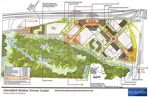 Greenbelt Station Open Space Plan
