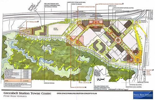 Greenbelt Station Open Space Plan