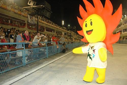 Pan 2007 Cauê Mascote do Pan