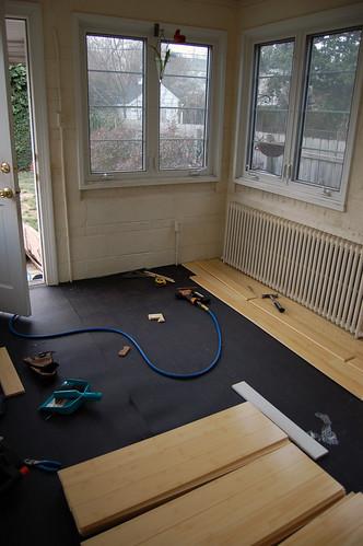 Beginning New Floor