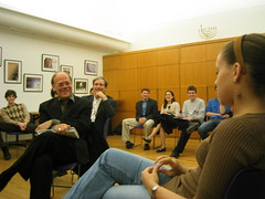 Reps. Cohen and Yarmuth at Harvard Hillel